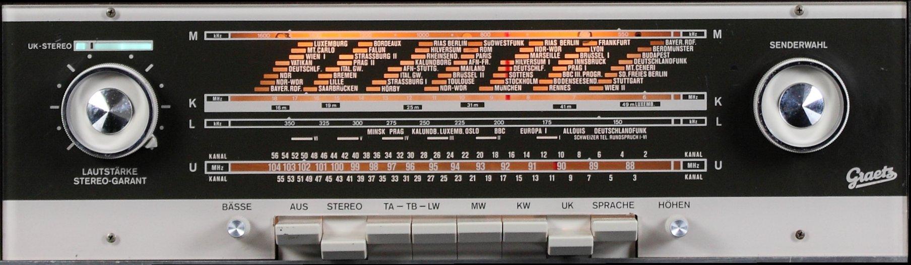 Graetz Melodia 14 F